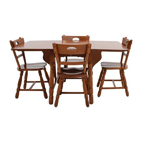 maple dining table chairs dining sets used dining sets for sale