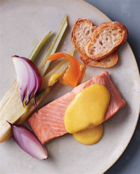 poached salmon recipes salmon poached in white wine