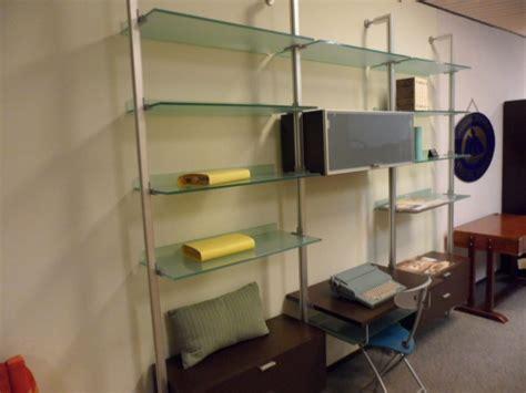 libreria alluminio libreria alluminio e vetro lormani arredamenti
