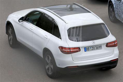 2019 Mercedes Diesel Suv by 2019 Mercedes Glc Updated Suv Revealed In