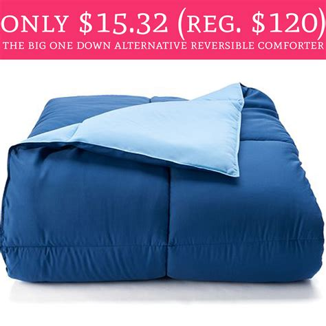 the big one comforter hot only 15 32 regular 120 the big one down
