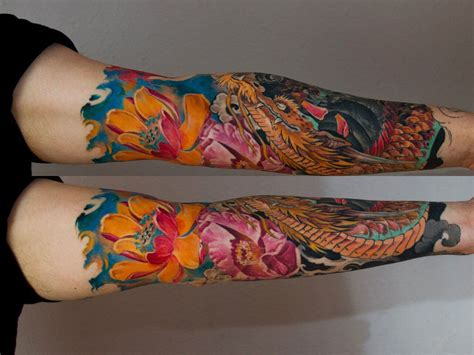 japanese tattoo lotus sleeve top 103 best japanese tattoos for men improb