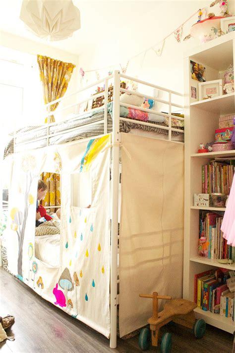Bunk Bed Fort Curtains La La Loving Littles Edition La La Lovely