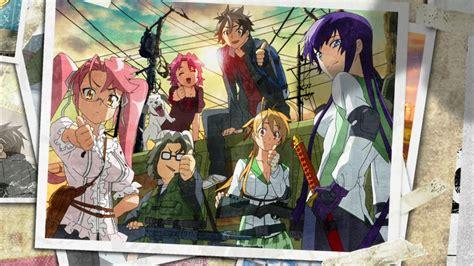 high school of the dead high school of the dead academy apocalypse anime