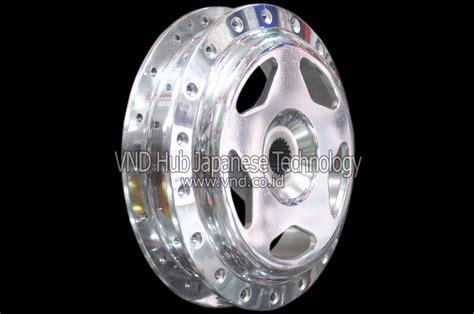 Tromol Belakang Scoopy Fi Chrome vario rear hub vnd vario model drag new