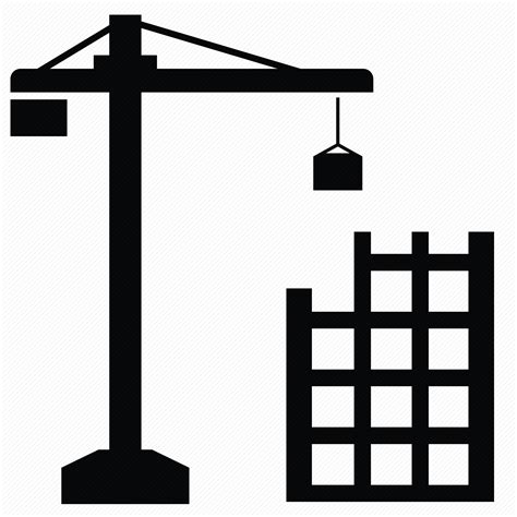 icon design build 10 construction crane with ball icon images crawler