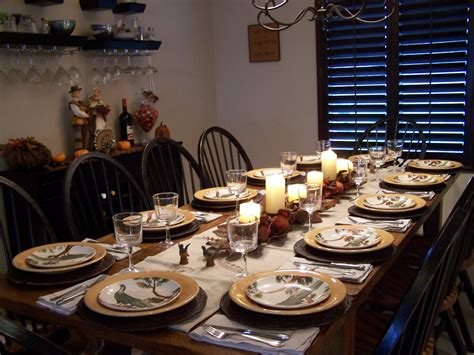 set table to dinner allyson jane thanksgiving dinner from scratch