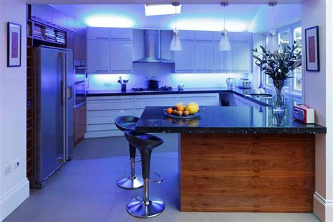 Led Lights In The Kitchen Light Up Your Kitchen With Led Lights Smart Ideas