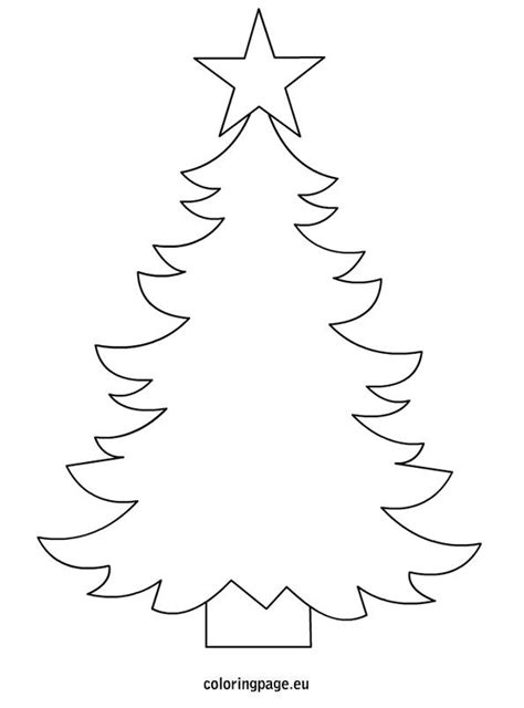 christmas tree template to print christmas pinterest