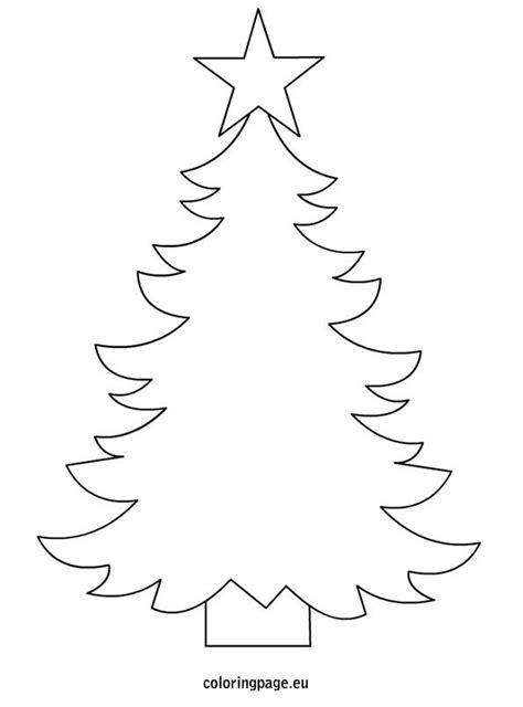 free printable xmas tree template christmas tree template to print christmas pinterest