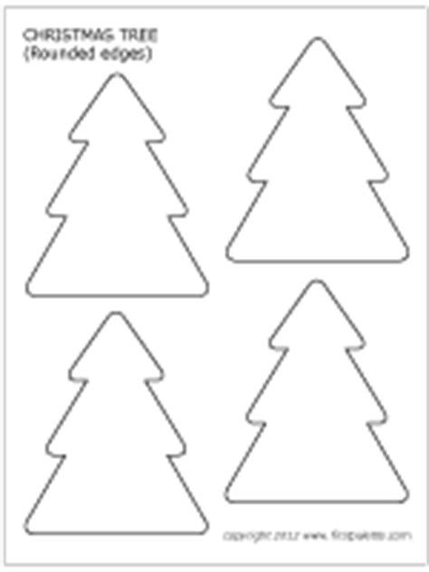 christmas tree printable templates amp coloring pages
