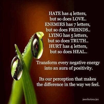 turn negative energy into positive energy positive thinking quote transform every negative energy