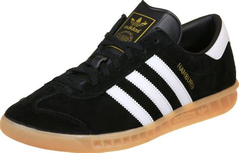 adidas hamburg shoes black white