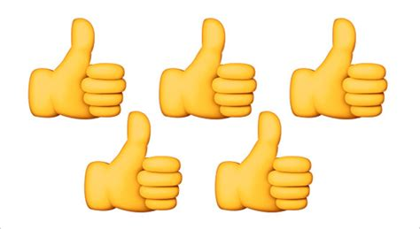 emoji thumbs up 21 bring out the optimism in you with the thumbs up emoji