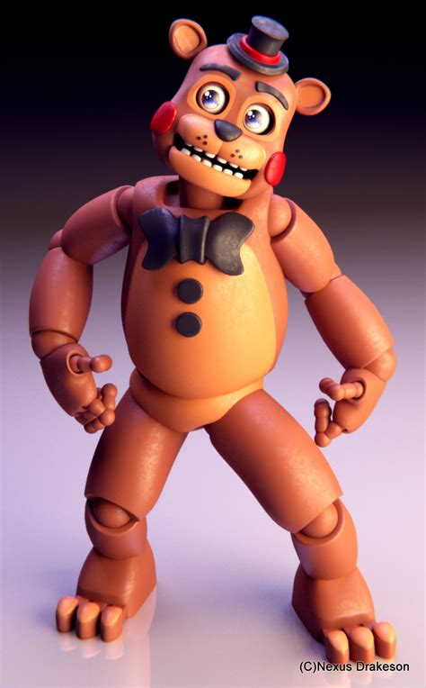 5 nights at freddy s toys freddy by nexusdrakeson on deviantart
