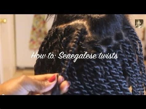 What Type Of Hair Do You Use For Marley Twists by Twist From The Root Senegalese Twists On Relaxed Hair