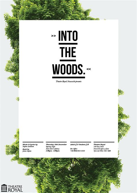 poster design nature theatre posters on behance