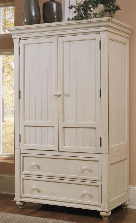 White Armoire by Klaussner Treasures White Tv Armoire Buy Bedroom
