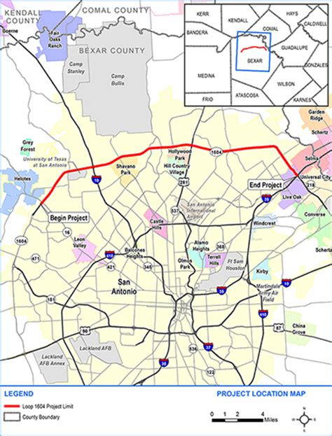 texas toll map environmental study on proposed loop 1604 toll lanes texas radio