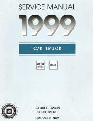 2002 express savana bi fuel repair shop manual supplement 1999 chevrolet gmc truck van suv repair factory manuals cds