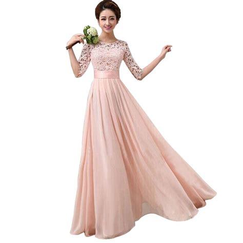 Dress La New Bhn Spndex Fit L sleeve gown evening dress
