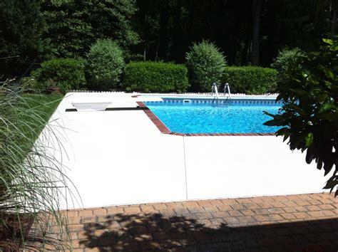 paint concrete pool deck henderson wallcovering painting