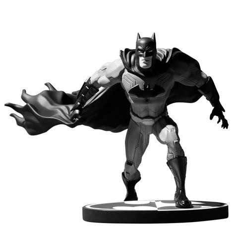batman white batman new 52 black white jim statue