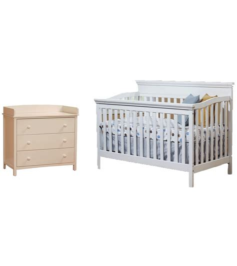 Simple Cribs by Sb2 Katherine 2 Nursery Set In White Crib Simple