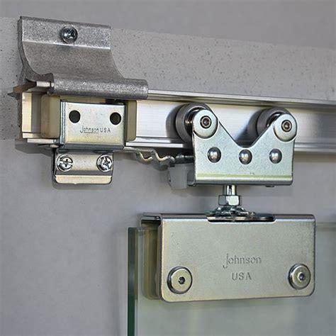 2075 Sliding Glass Door Hanger Johnsonhardware Com Glass Pocket Door Hardware