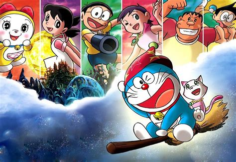 doraemon wallpaper in 3d doraemon and friends desktop wallpaper in 3d