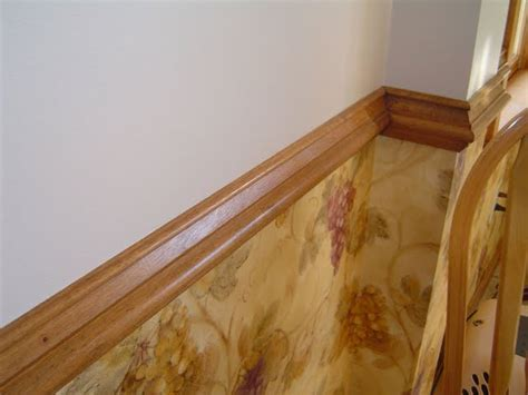 how to install chair rail molding how to install a chair rail molding