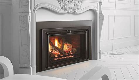 heat glo fireplace inserts heat n glo gas inserts escape i35 traditional living