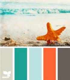 beachy colors at the coral and teal color pallet colors that