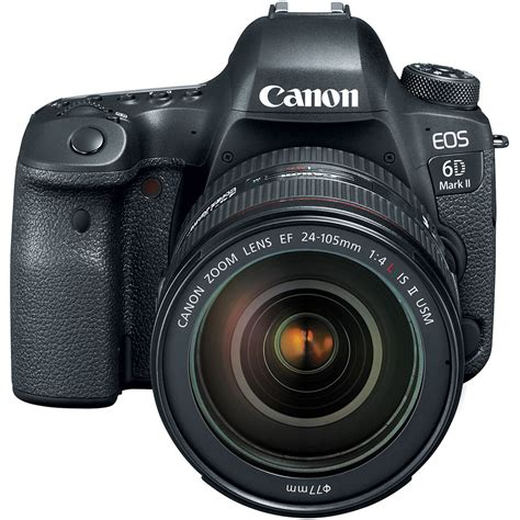 eos 6d dslr canon eos 6d ii dslr kit with 24 105mm f 4 is
