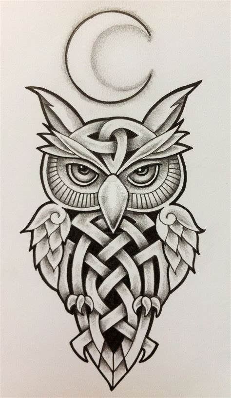 tribal owl tattoo meaning best 25 owl design ideas on owl
