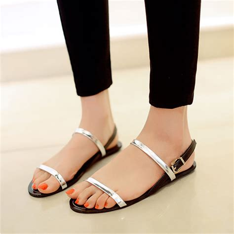 Best Quality Sandal Flat V49 21 innovative flat sandals playzoa