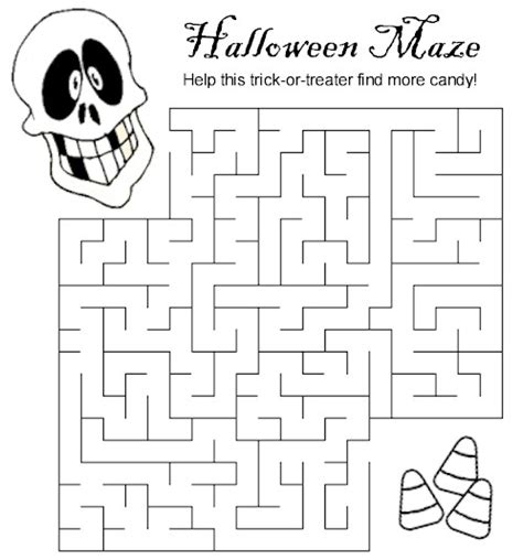 halloween coloring pages mazes halloween printables halloween maze printables