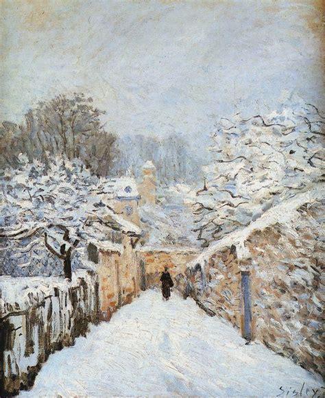 La L Posts by Alfred Sisley 1839 1899 El Impresionismo Y Sus
