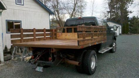 how to make a wood truck bed sides for flatbed truck stuff pinterest trucks
