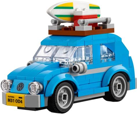 mini volkswagen beetle mini vw beetle free later this month brickset set