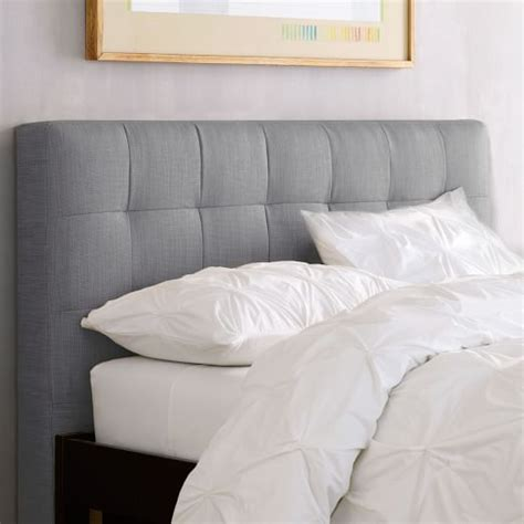 www headboards com grid tufted headboard west elm