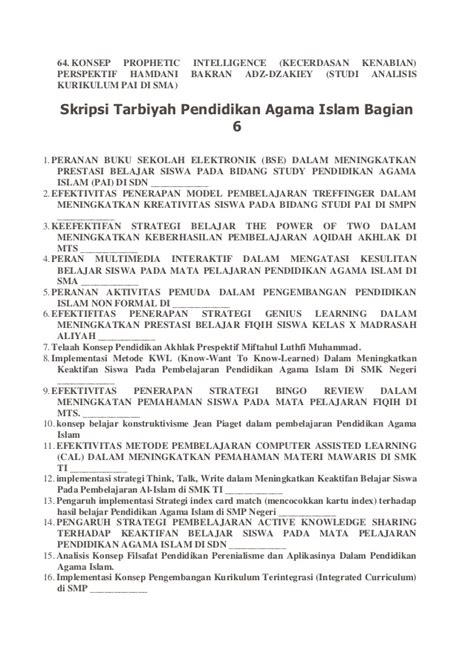 aturan dalam membuat judul skripsi kumpulan contoh judul skripsi bahasa indonesia autos post