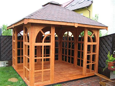 holzpavillon kaufen pavillon gartenlaube holzpavillon 3 990 2232