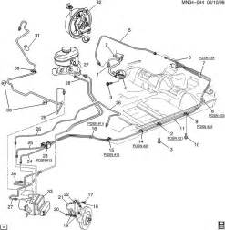 Brake Line Diagram 1999 Chevy Malibu 2001 Chevrolet Malibu Brake Hoses Pipes