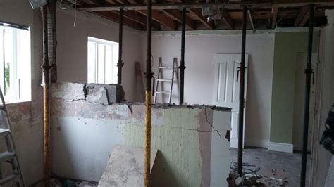 Knocking down internal walls for your new kitchen? Here's