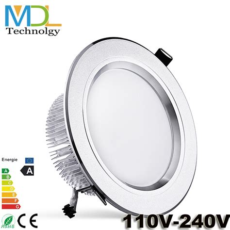 Downlight Spot Indc400 9w new ceiling led downlight 3w 5w 7w 9w 12w 15w 18w ip44 recessed spot l white home lighting