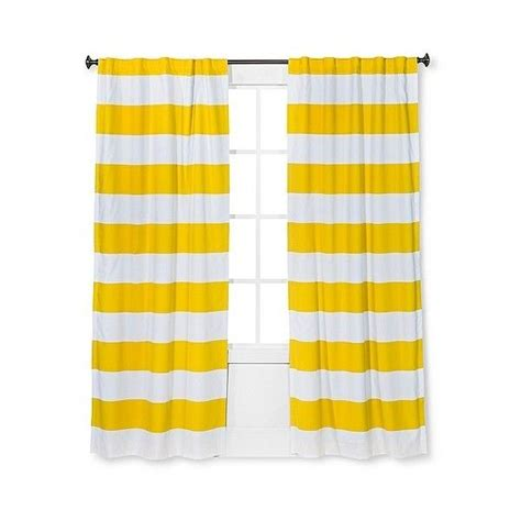 Yellow Striped Curtains 17 Best Ideas About Target Curtains On Pinterest Stool Makeover Upholstered Stool And Bar