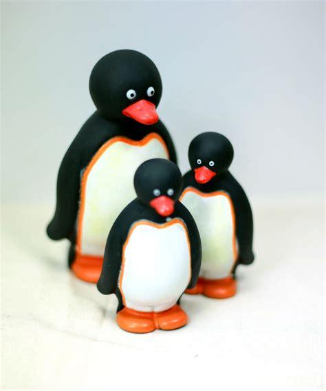 Pinguin Set penguin family bath set penguin corner