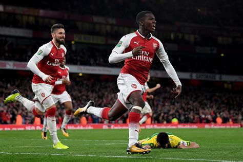 arsenal nketiah eddie nketiah goals stat arsenal boss arsene wenger