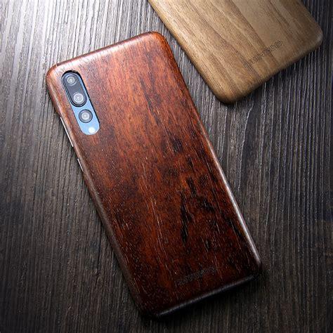 showkoo kevlar natural wood ultra slim case cover  huawei p hua armor king case